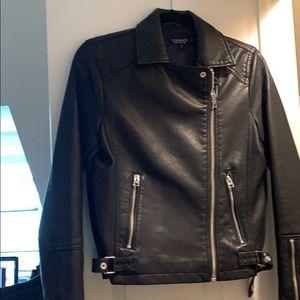 Top shop Vegan Leather Moto Jacket